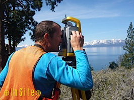 Insite Land Surveys Control Survey